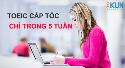 luyen thi toeic cap toc